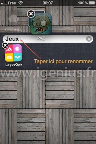 Comment organiser les applications par dossiers ou groupes sur son iPhone ? (iGenius)