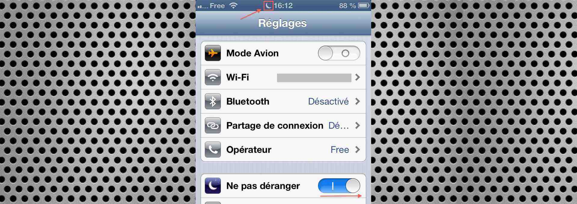 """Comment utiliser la fonction """"Ne pas déranger"""" d'iOS 6 ? (iGenius)"""
