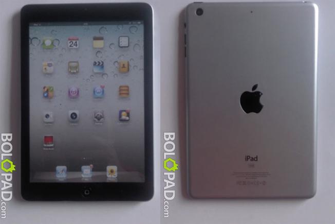 De nouvelles photos de l'iPad Mini font surface
