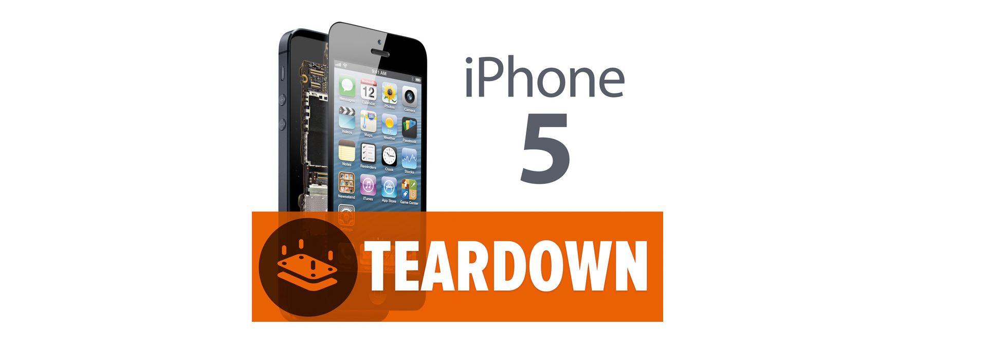 iFixit démonte l'iPhone 5 et donne une note de réparabilité