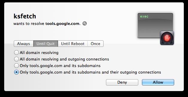Comment désactiver ksfetch, le processus de mise à jour de Google