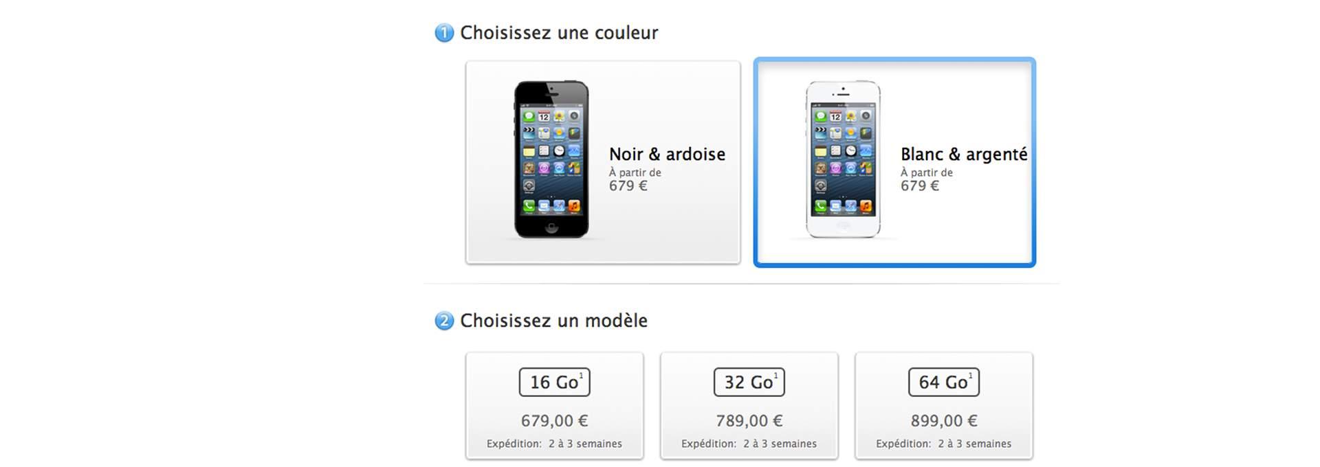 Précommandes iPhone 5: un démarrage sur les chapeaux de roues