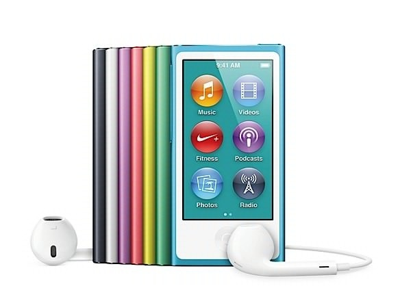 Apple met à jour l'iPod Nano