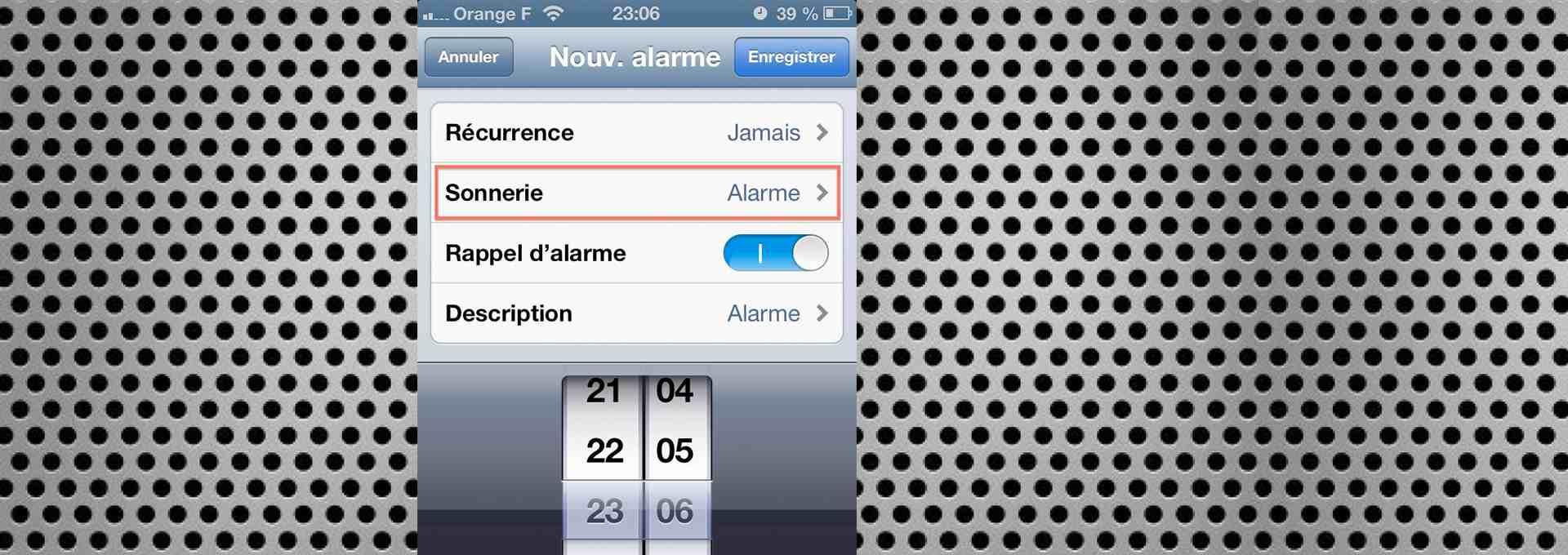 Comment utiliser une chanson dans votre playlist comme alarme sur iOS 6 ? (iGenius)