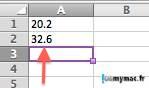 Ohmymac Séparateur décimal sur Excel 2011 Mac 22