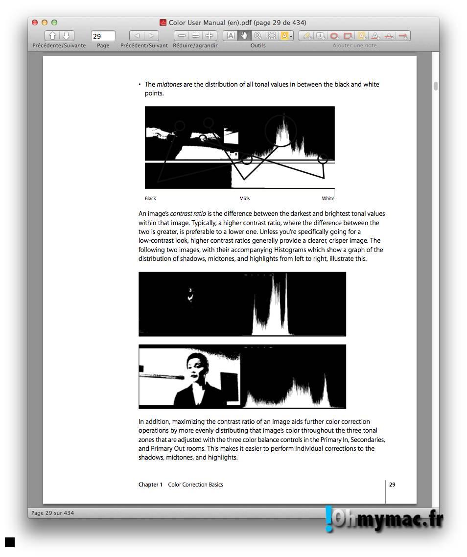 Ohmymac Convertir un PDF couleur en noir et blanc 06