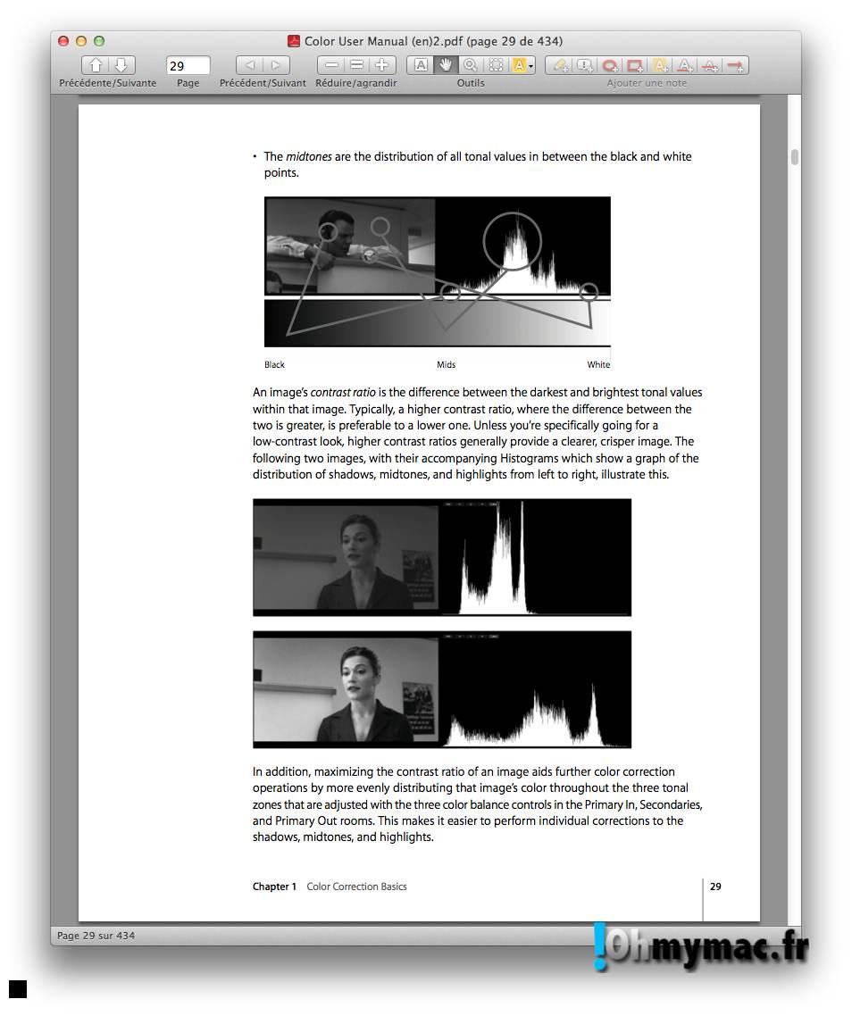 Ohmymac Convertir un PDF couleur en noir et blanc 08