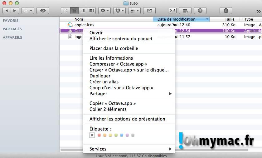 Ohmymac Trasformer un AppleScript en Application 15