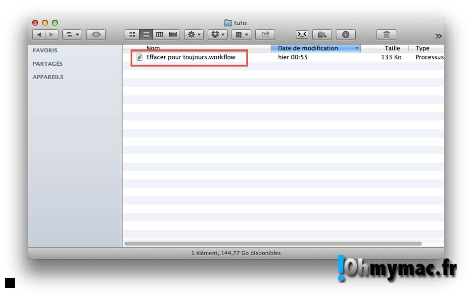 Ohmymac Comment supprimer fichiers et dossiers sans passer par la corbeille sur Mac 03