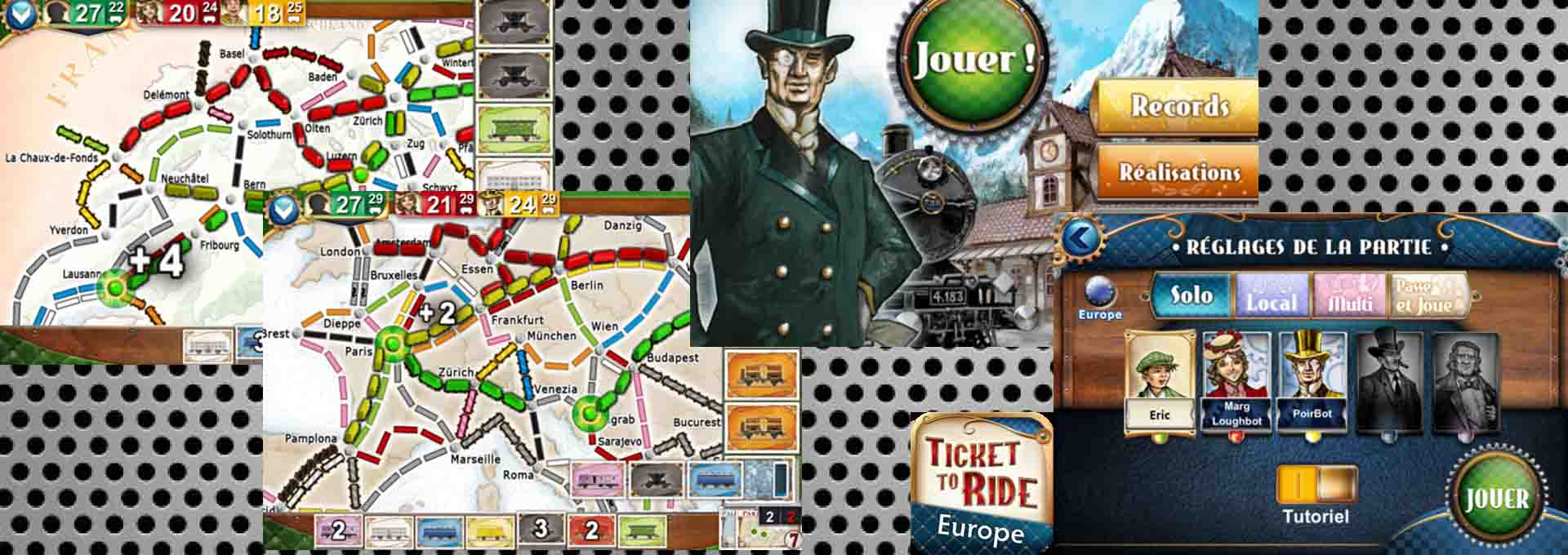 Ticket to Ride Pocket (Les aventuriers du rail), le test