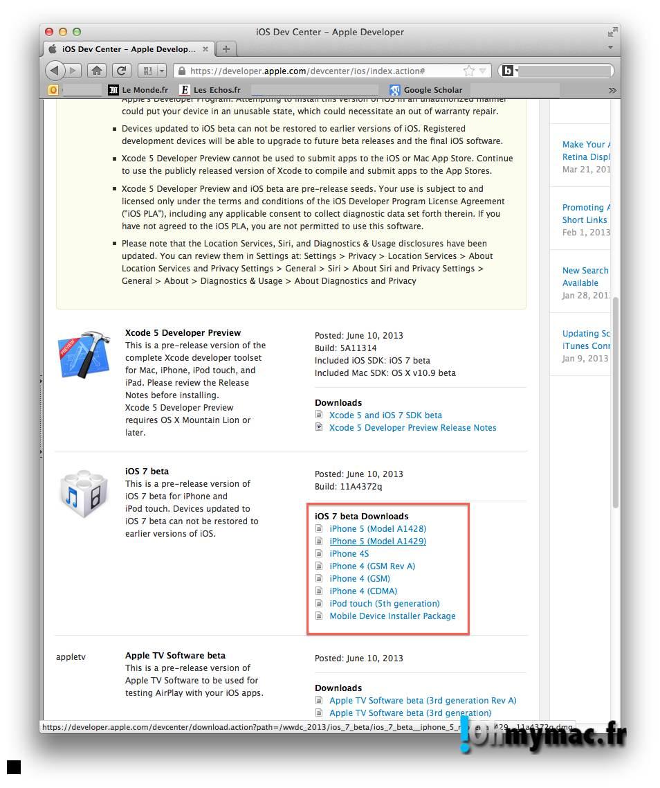 Ohmymac iOS 7 Beta: guide d'installation détaillé 02
