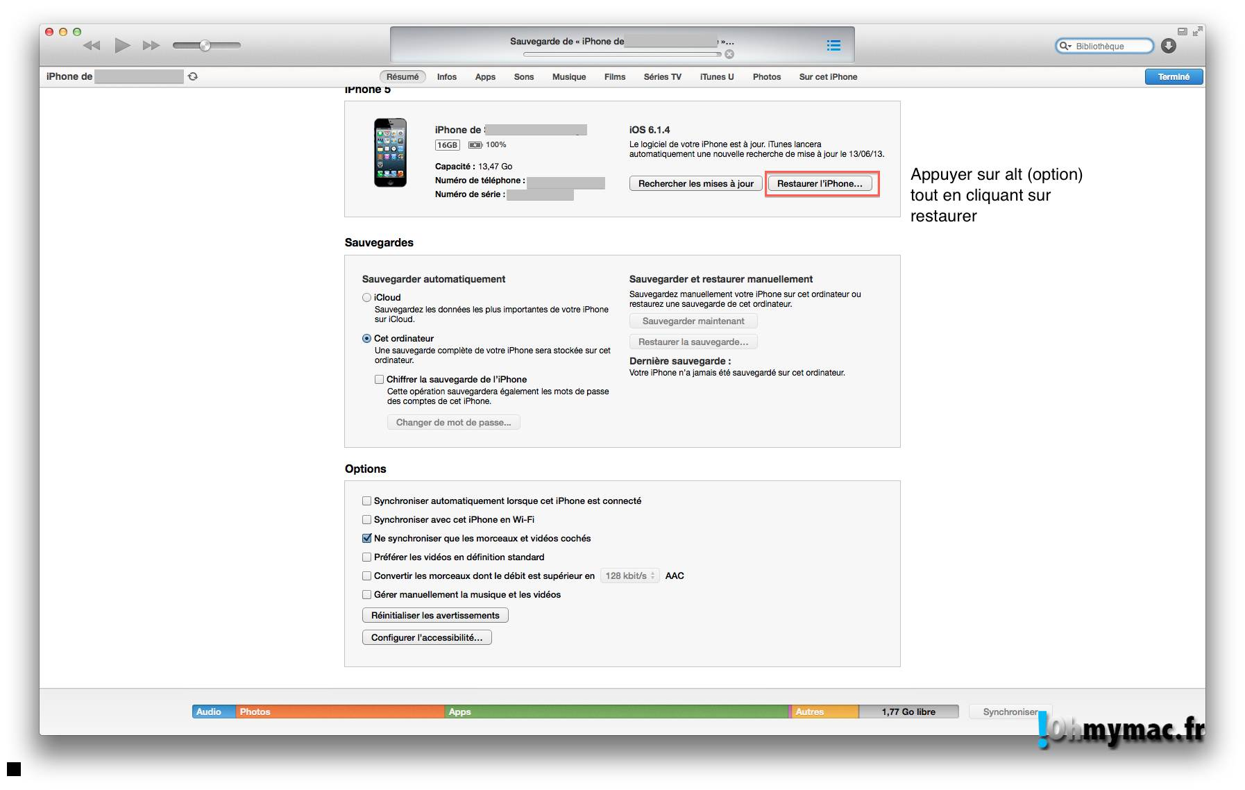 Ohmymac iOS 7 Beta: guide d'installation détaillé 06