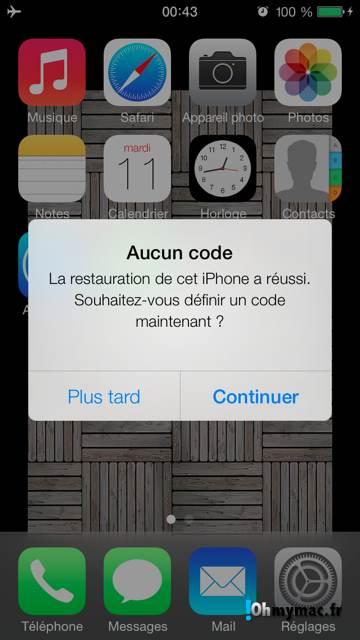 Ohmymac iOS 7 Beta: guide d'installation détaillé 13
