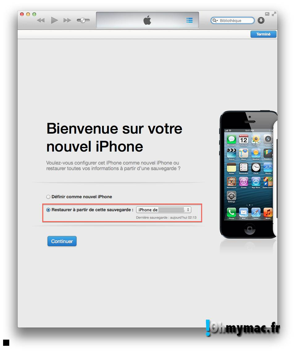 Ohmymac iOS 7 Beta: guide d'installation détaillé 16