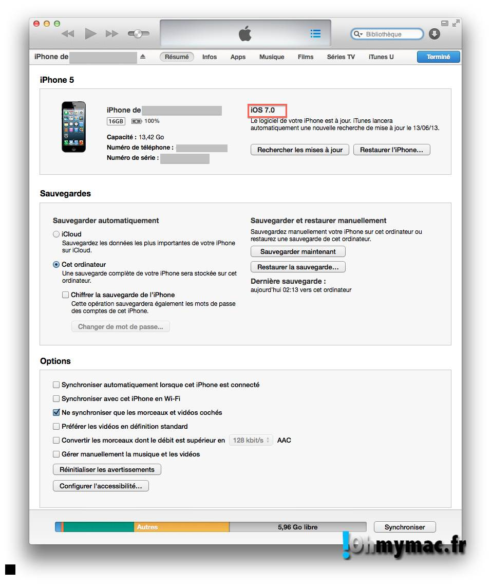 Ohmymac iOS 7 Beta: guide d'installation détaillé 18