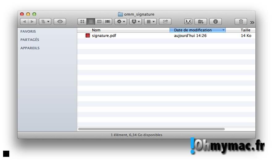Comment créer une signature numérique sur son Mac ? 07