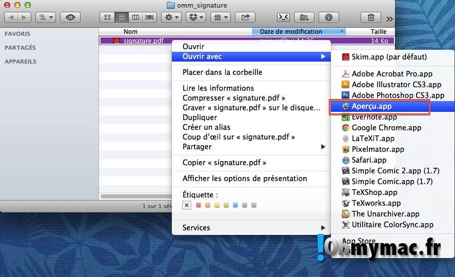 Comment créer une signature numérique sur son Mac ? 08