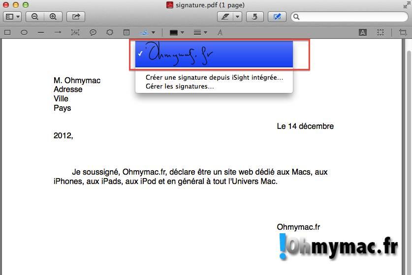 Comment créer une signature numérique sur son Mac ? 19