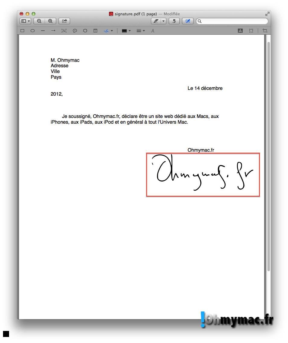 Comment créer une signature numérique sur son Mac ? 20