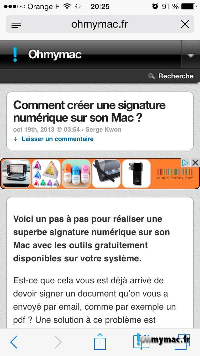 Comment créer une signature numérique sur son Mac ? 02