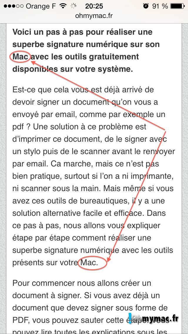 Comment créer une signature numérique sur son Mac ? 03