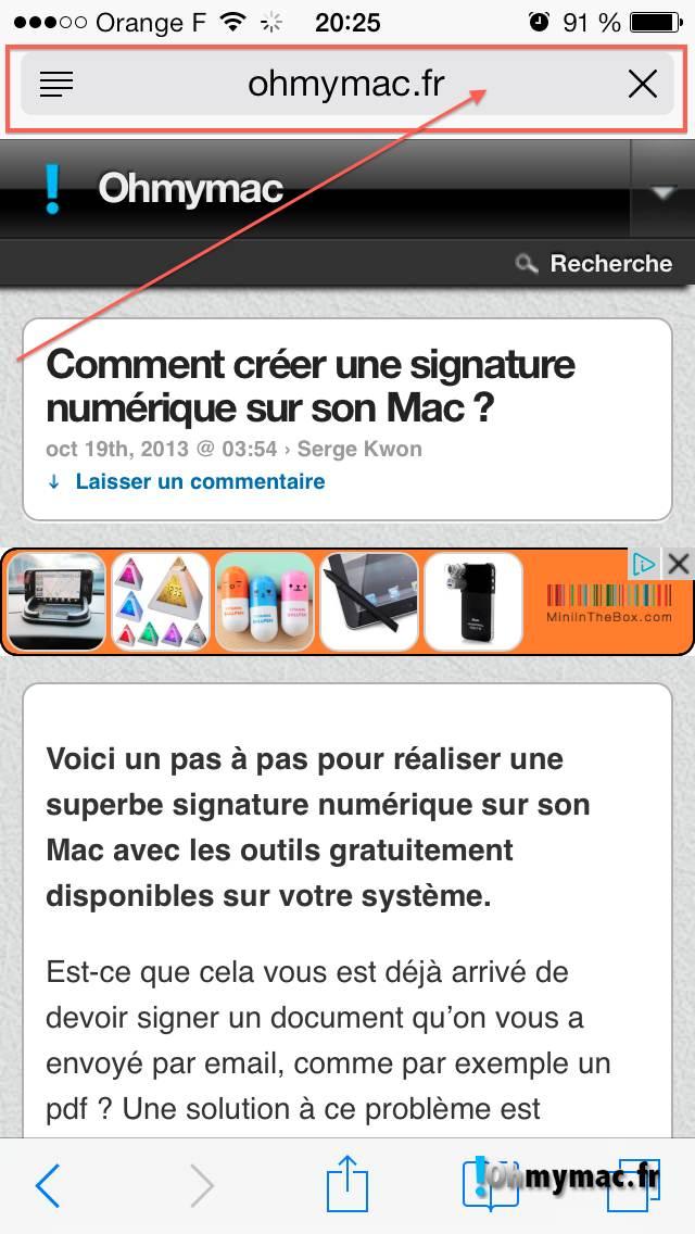 Comment créer une signature numérique sur son Mac ? 04