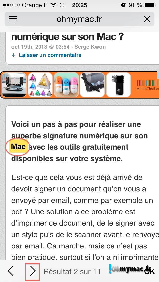 Comment créer une signature numérique sur son Mac ? 09