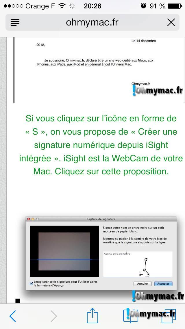 Comment créer une signature numérique sur son Mac ? 11