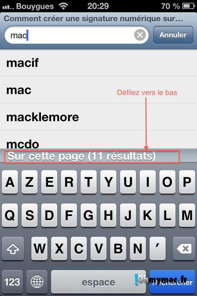 Comment créer une signature numérique sur son Mac ? 13