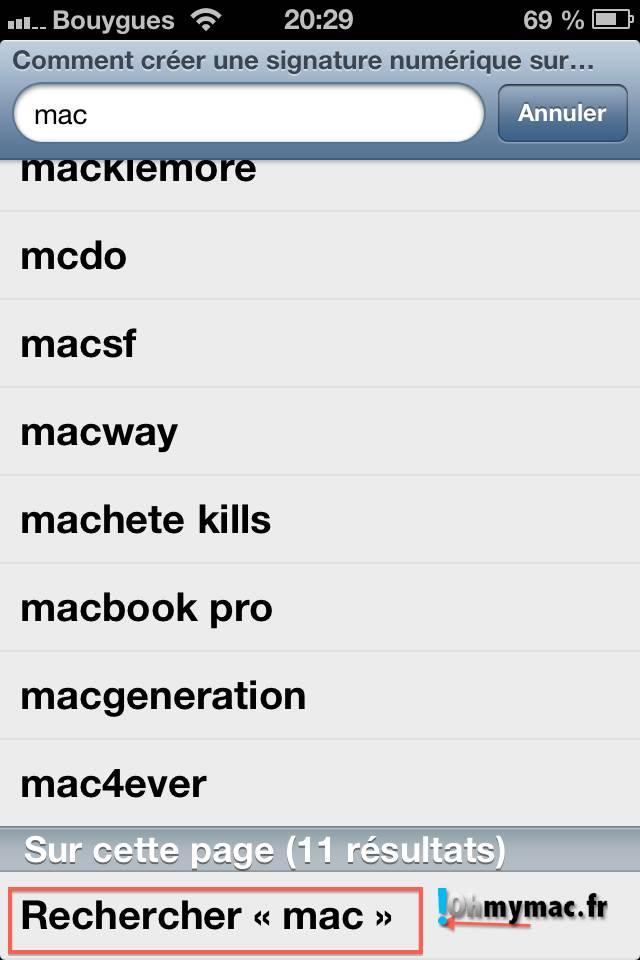 Comment créer une signature numérique sur son Mac ? 14
