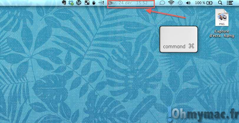 Comment bouger ou supprimer les icônes de la barre de menu sur son Mac