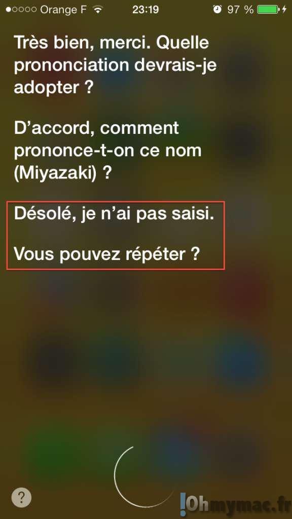 Comment apprendre à Siri à bien prononcer les noms propres ?