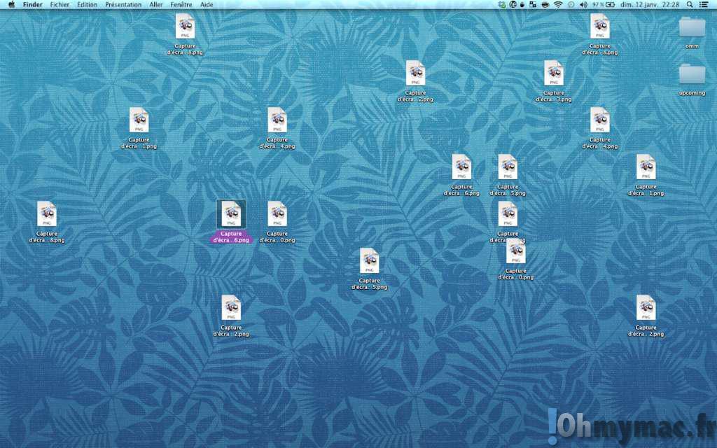 Cacher toutes les icônes pour avoir un bureau propre en un clin d'oeil sur son Mac