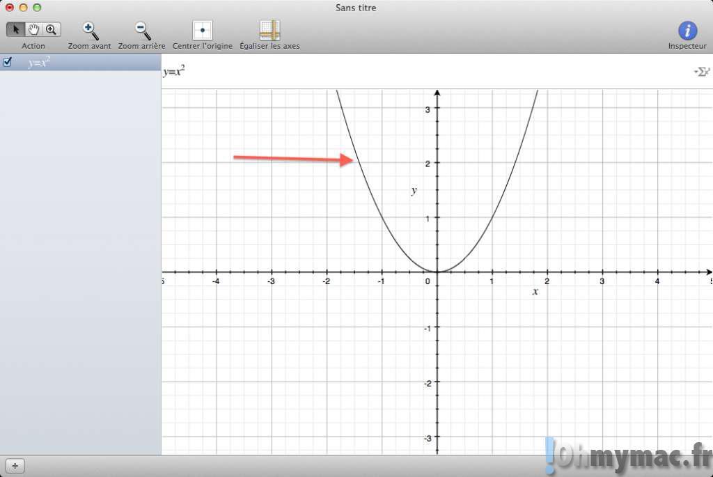 Réaliser de superbes graphiques et s'amuser avec les maths sur son Mac sans rien acheter ni télécharger