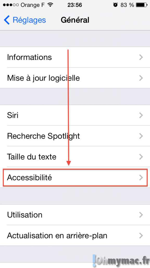 Utiliser le flash LED de votre iPhone comme notification visuelle
