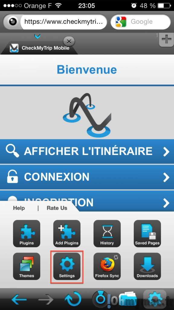Eviter les sites web mobile sur iPhone et iPad