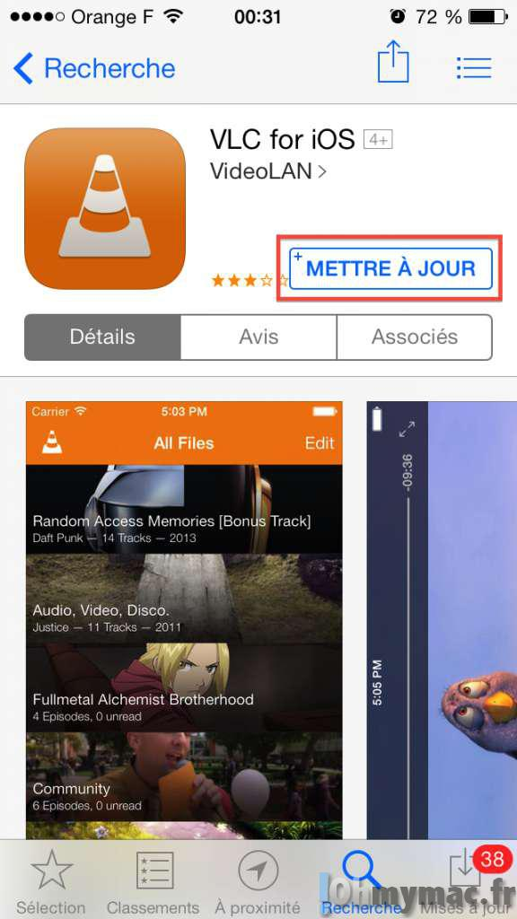 Lire tous les formats de video sur iPhone ou iPad sans conversion