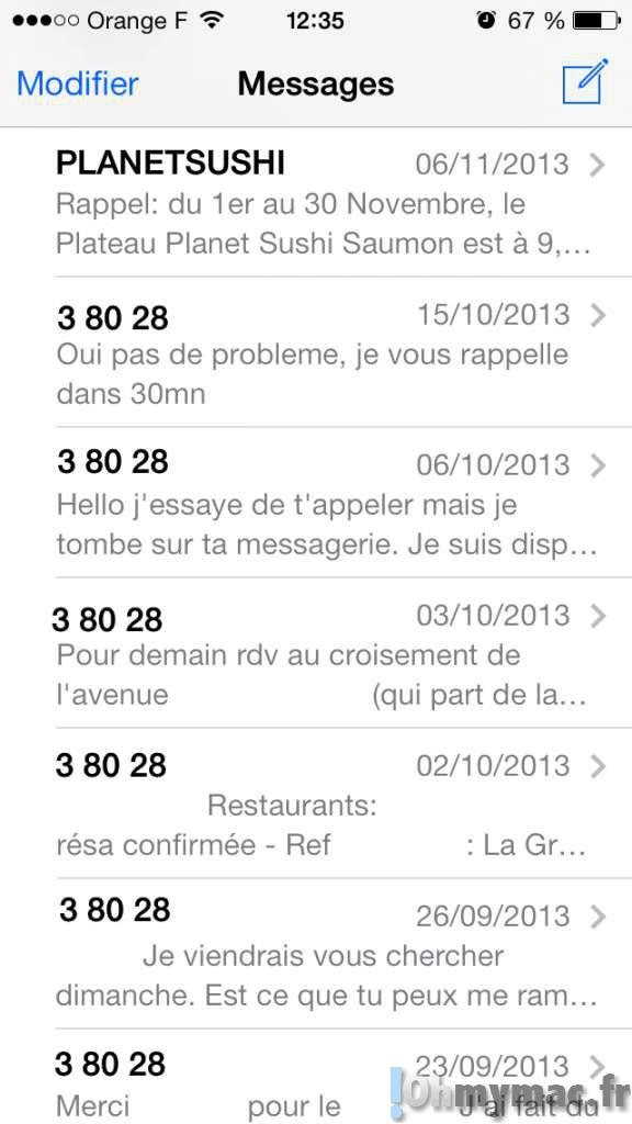 Effacer un SMS, un iMessage ou une conversation sur votre iPhone ou iPad