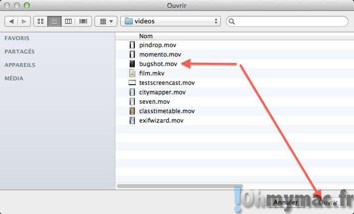 Editer et couper une vidéo en 30 secondes avec Quicktime Player