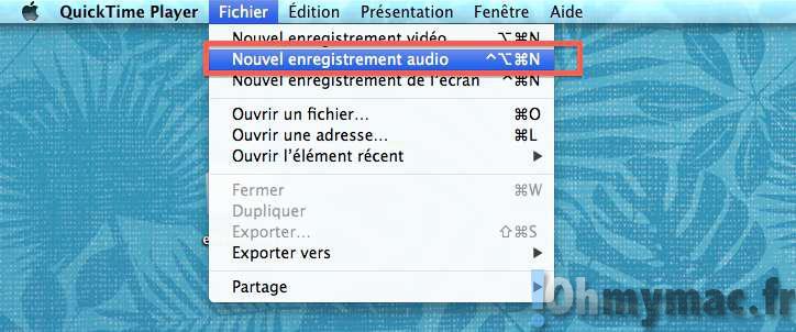 Enregistrer le son de votre Mac