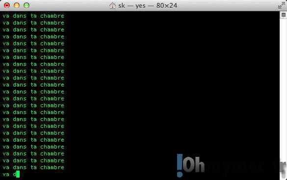 S'amuser avec le Terminal du Mac: jeux, films, blagues, etc.