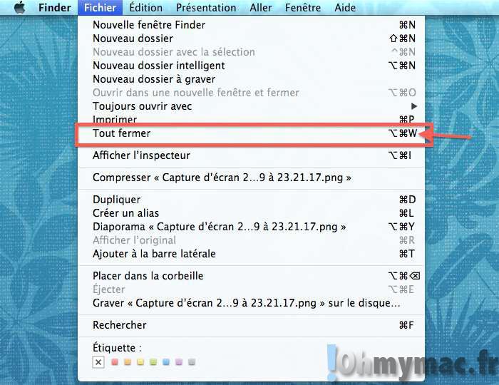 Comment fermer toutes les fenêtre ouvertes d'une application sur son Mac ?