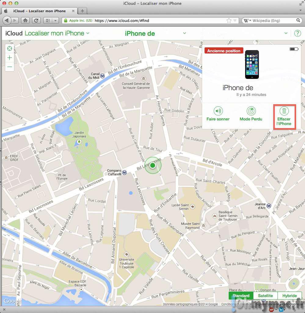 iPhone ou iPad perdu ou volé: que faire ?