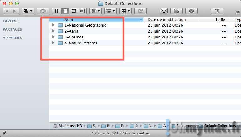 Comment accéder aux fonds d'écran haute qualité livrés avec votre Mac ?