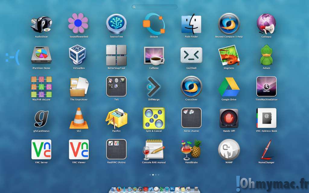 Launchpad Mac: comment ranger alphabétiquement les applications ?