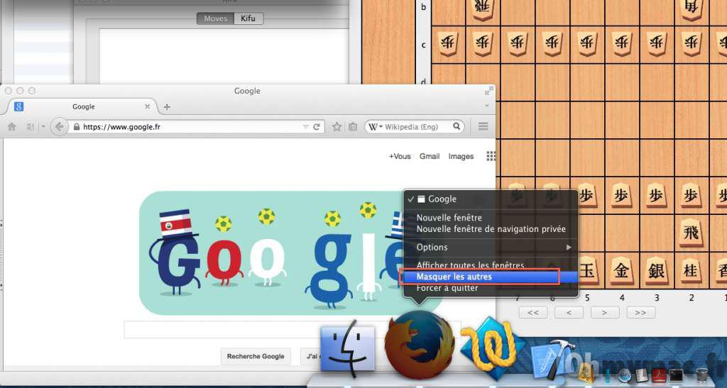 Comment masquer toutes les fenêtres à l'écran sauf celle de l'application courante sur son Mac ?