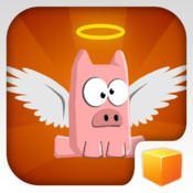Pigs Can't Fly, le test: un peu de Flappy Bird à la sauce bacon, la frustration en moins