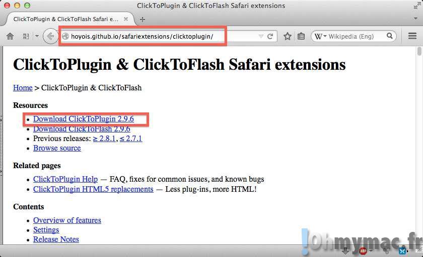 Empêcher le lancement automatique des vidéos sur Safari Mac