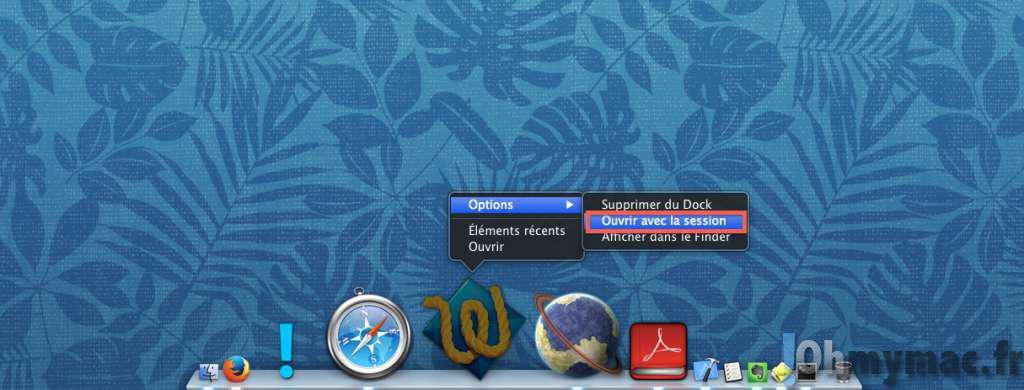 Ajouter rapidement une application au démarrage du Mac