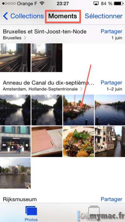 Afficher vos photos sur une carte par localisation sur votre iPhone ou iPad